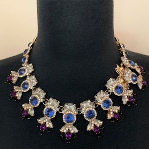 Baublebar Blue and Purple Statement Necklace